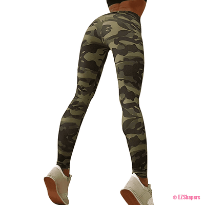 Army Camouflage Fitness Leggings