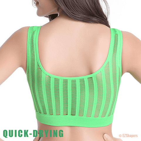Image of Hollow Out Seamless Padded Bra
