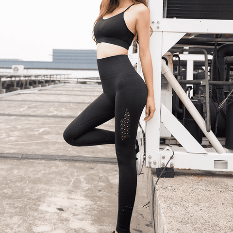 Image of Sports Leggings Stretchy Fitness Pants