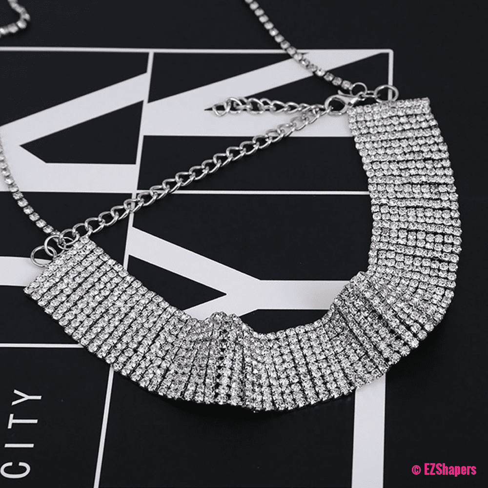 Crystal Sequins Flash Necklace