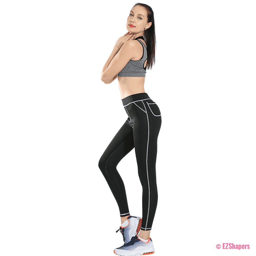 Plus Size Fitness Pockets Leggings