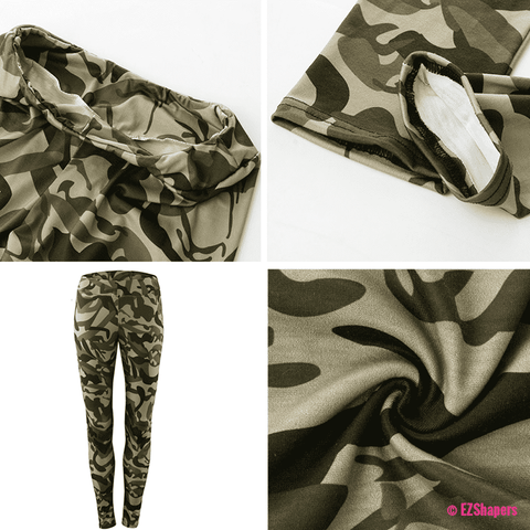 Image of Army Camouflage Fitness Leggings