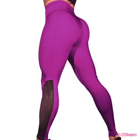 Image of Push Up Mesh Leggings