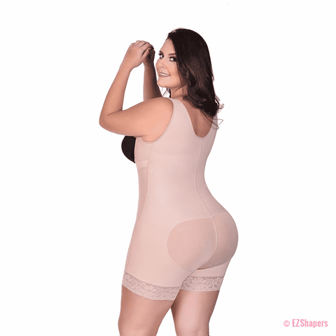 Image of Plus Size Slimming Waist Trainer Bodysuit