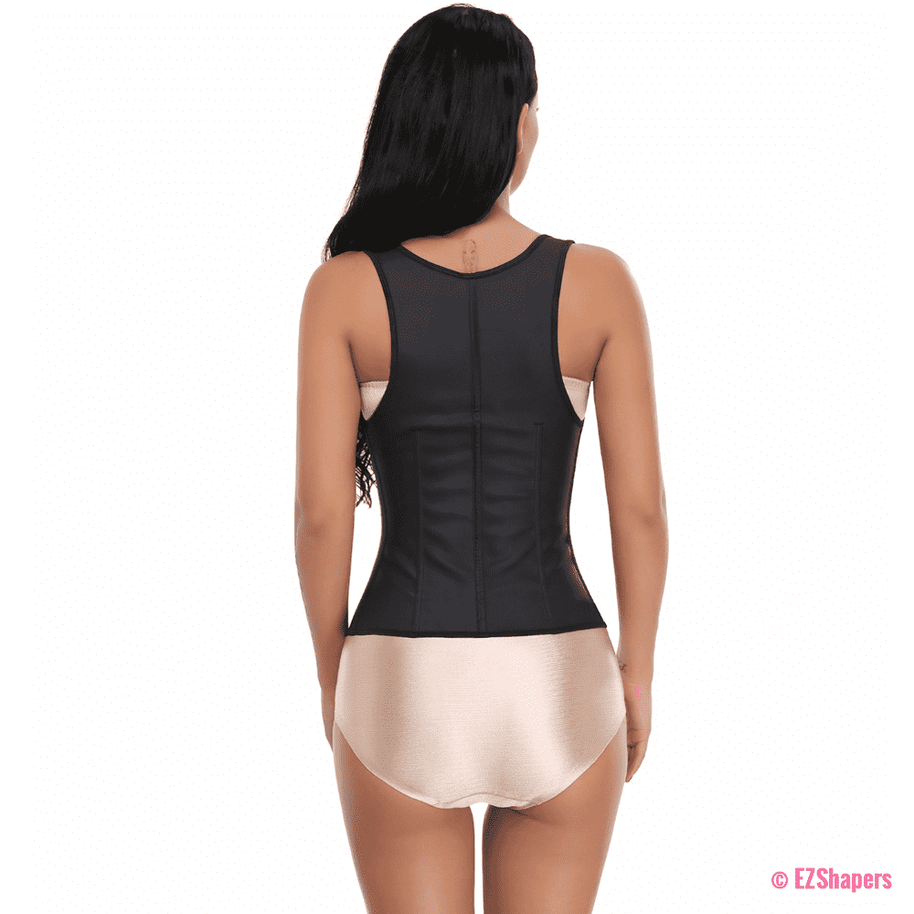Rubber Vest Firm Waist Cincher