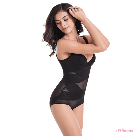 Image of Plus Size Seamless Slimming Bodysuit