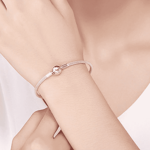 Image of 925 Sterling Silver Snake Chain Bracelet