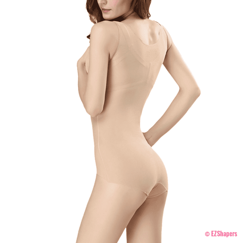 Image of Tummy Control Postpartum Bodysuit