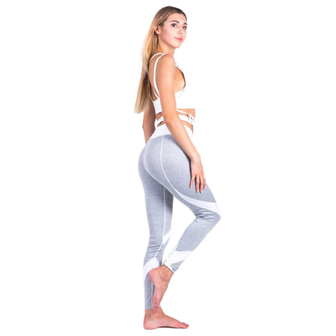 Image of Bodybuilding Patchwork Leggings