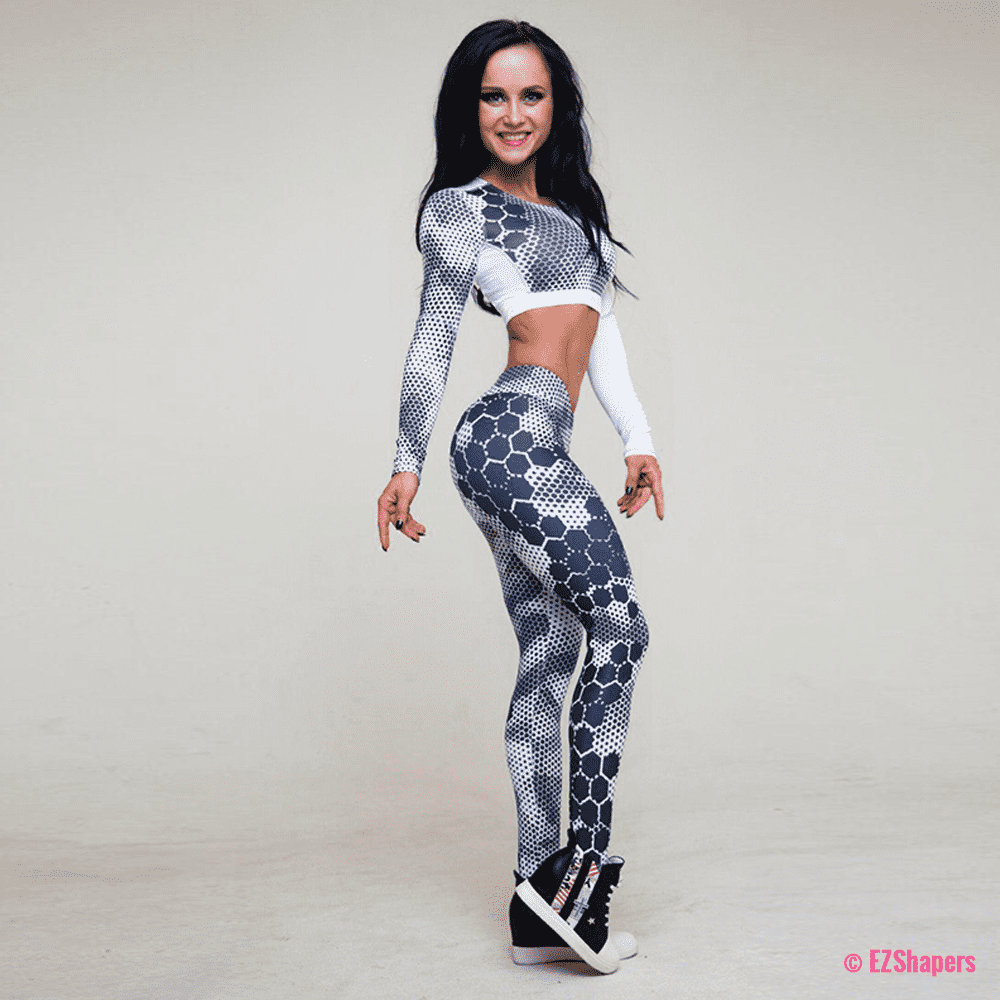 Fitness Honeycomb Leggings