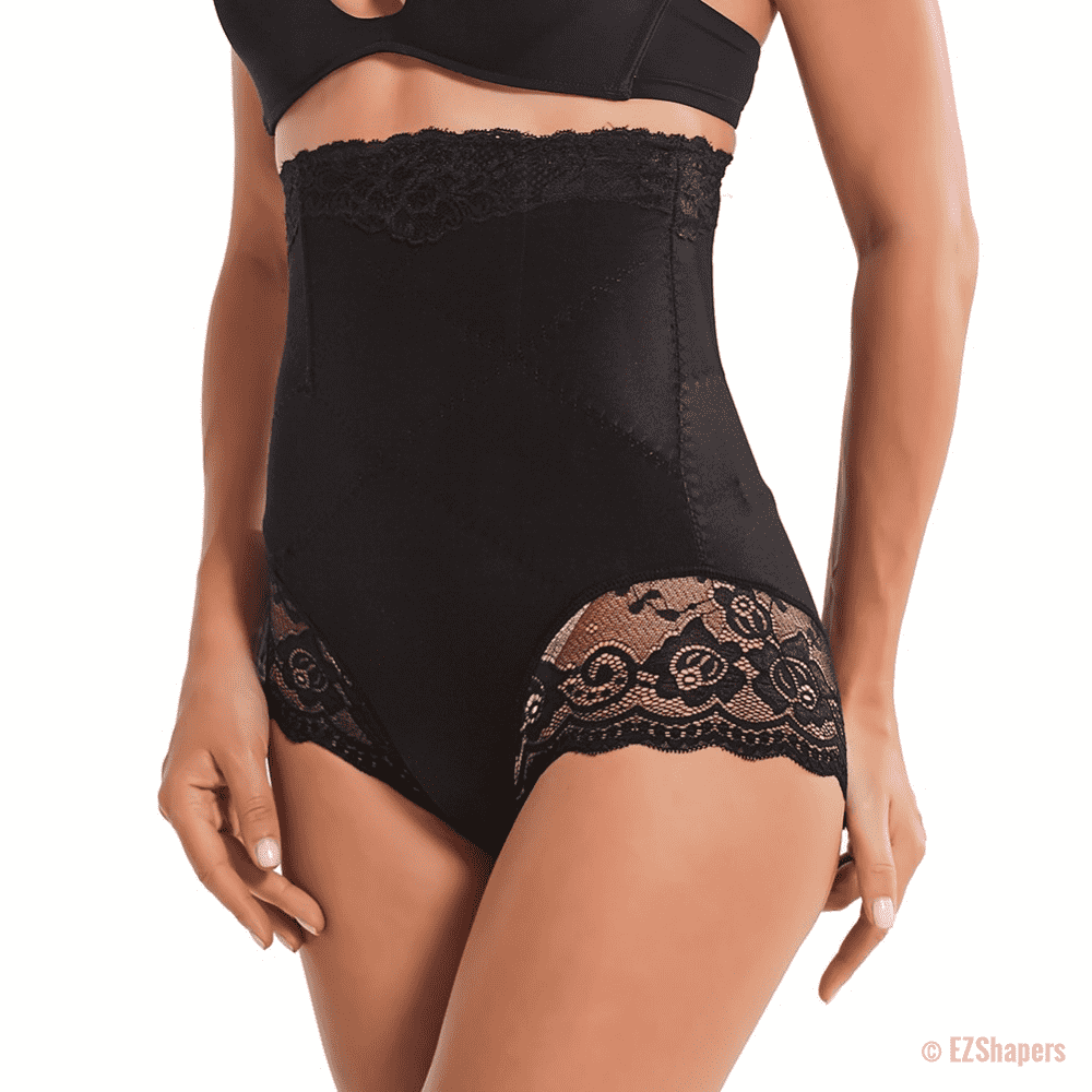 Slimming Tummy Waist Trainer with Lace Detail