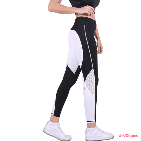 Image of Workout Hollow Out Heart Leggings