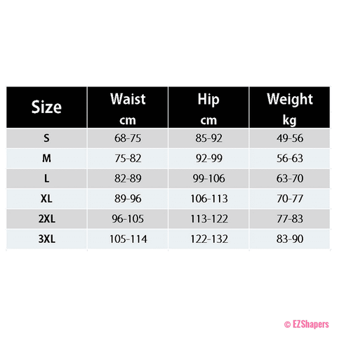 Image of Underbust Black Full Body Shapers