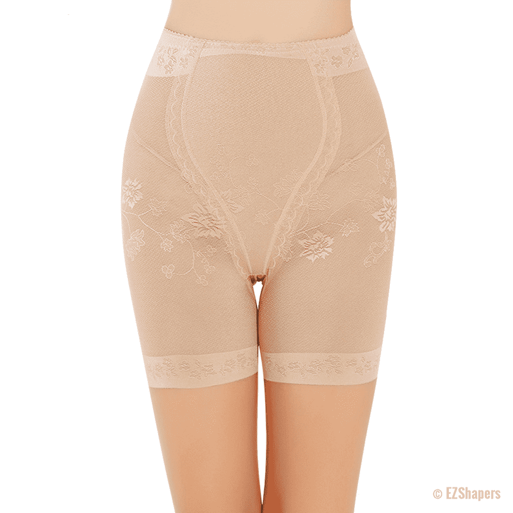 High Waist Lace Tummy Control Panty