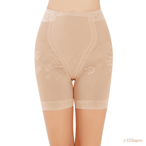 Image of High Waist Lace Tummy Control Panty