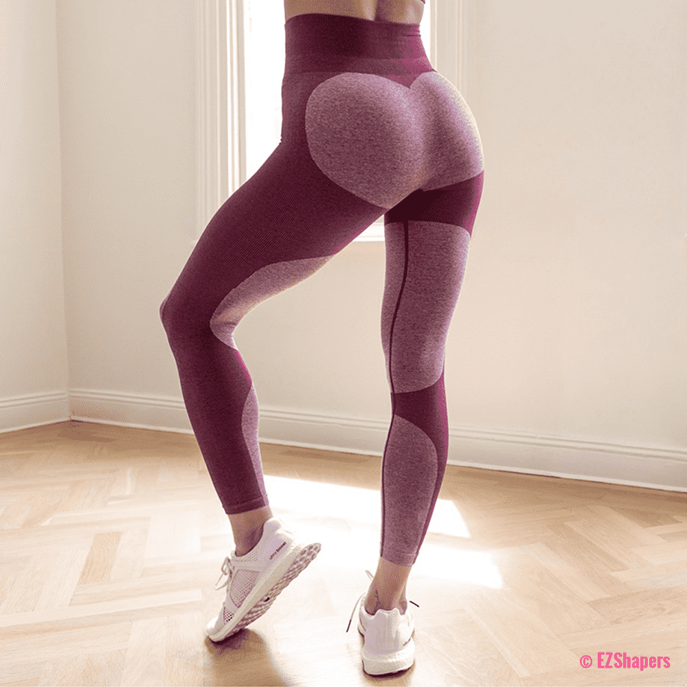 Bodybuilding Heart Patchwork Leggings