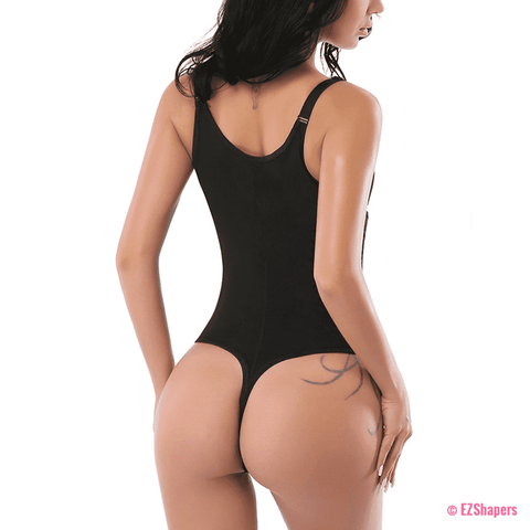 Image of Waist Trainer Clips & Zipper Bodysuit