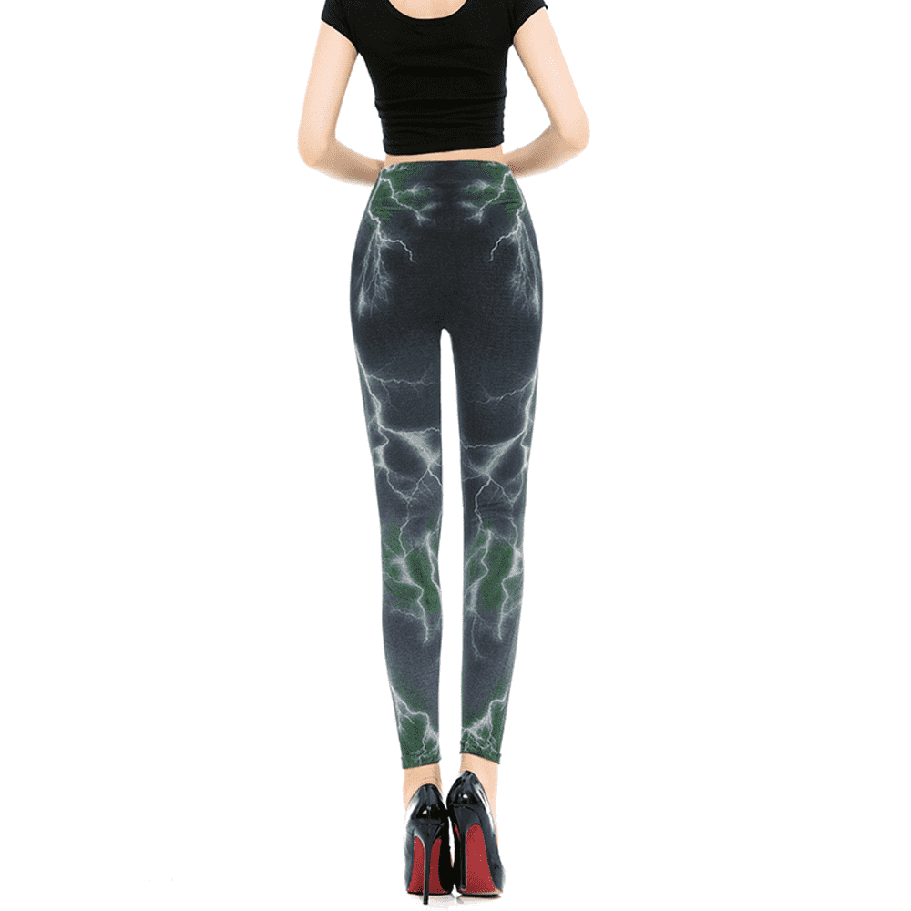 Electrifying High Elastic Leggings