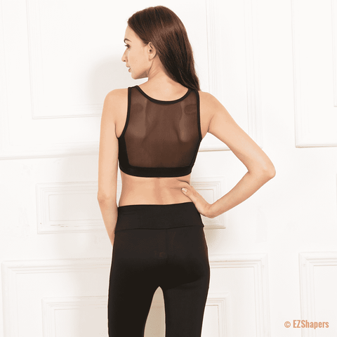 Image of Breathable Workout Slim Wire Free Bra