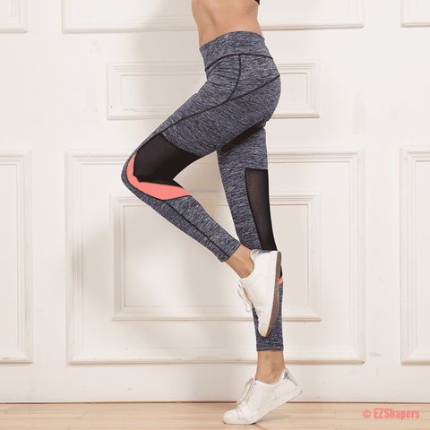 Image of Casual Polyester Breathable Leggings