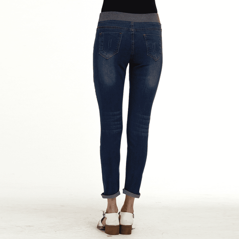 Image of Push Up Denim High Waist Mujer Jeggings