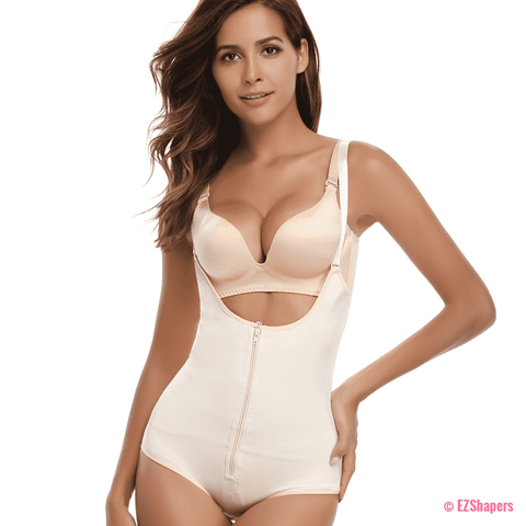 Image of Waist Trainer Slip Suit Powernet