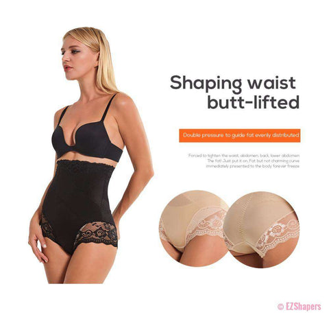 Image of Elegant Floral Lace Shapewear