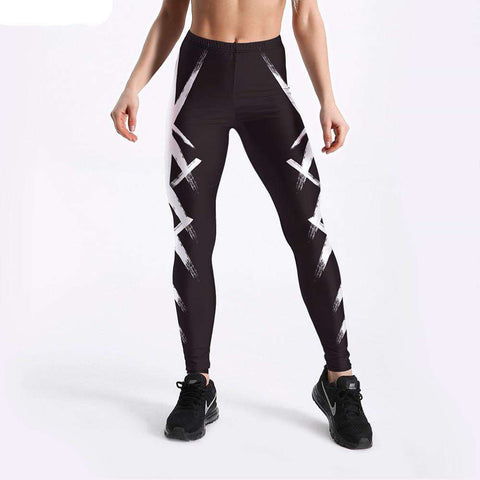 Image of Punk Style Workout High Waist Leggings