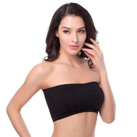 Image of Double Layers Strapless Bra