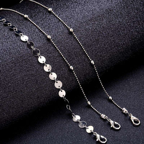 3pcs Multi-layers Chain Anklet