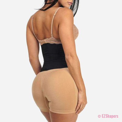 Front Hook-and-Eye Closure Corset