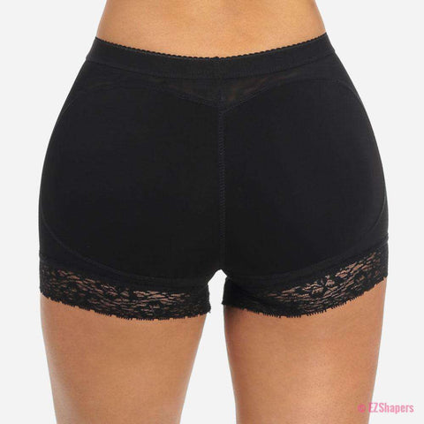 Image of Cushioned Butt Shaper with Lace Detail
