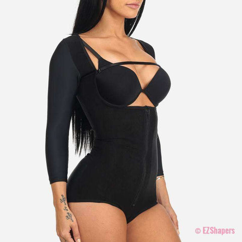 Image of Compression Slimming Bodysuit