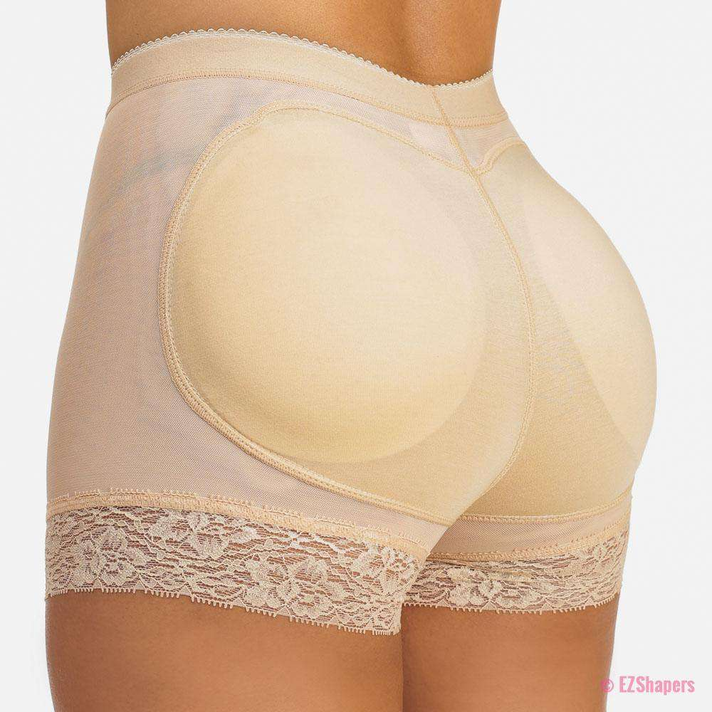 Cushioned Butt Shaper with Lace Detail