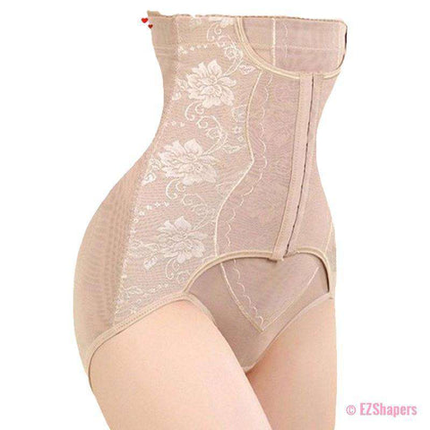 Image of High Waist Shapewear With Flower Detail