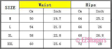 High Waist Shapewear With Flower Detail