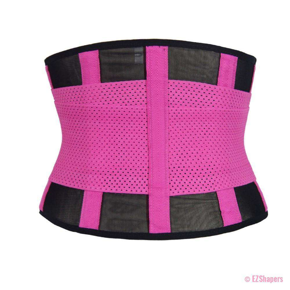 Fitness Waist Trainer With Front Velcro Adjustable Closure