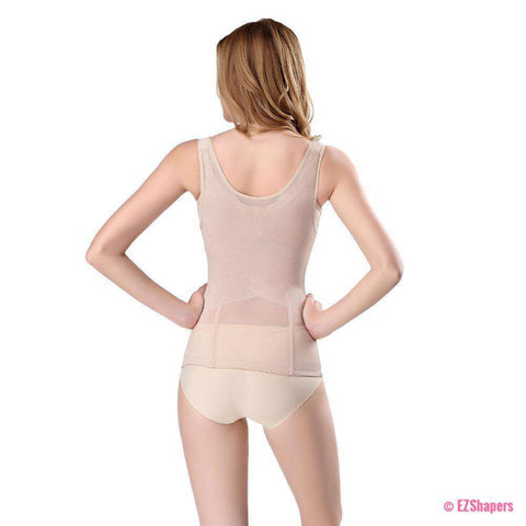 Thinsticts Bodysuit Shaper with Front Zipper