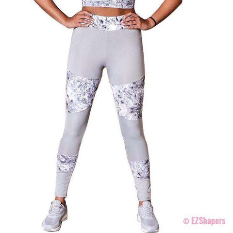 Image of Workout Printed Skinny Leggings