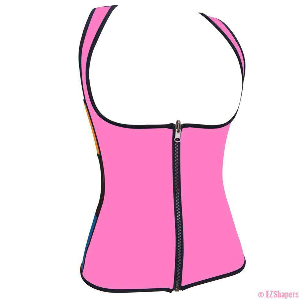 Sweating Slimming Underwear With Front Zipper Closure
