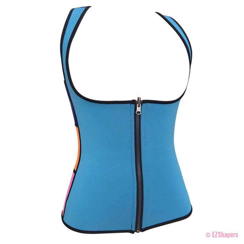 Image of Sweating Slimming Underwear With Front Zipper Closure