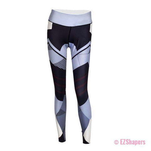 Image of Workout Geometrical Leggings