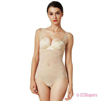 Audacious Slimming Bodysuit with Hook & Eye Closure