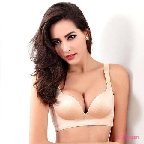 Adjustable Push Up Bra with Hook & Eye Closure
