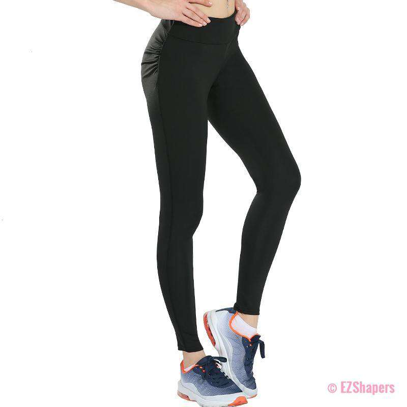 Black Slimming Push Up Leggings