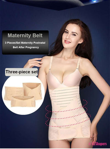 3 Pieces Maternity Belly Belt Band