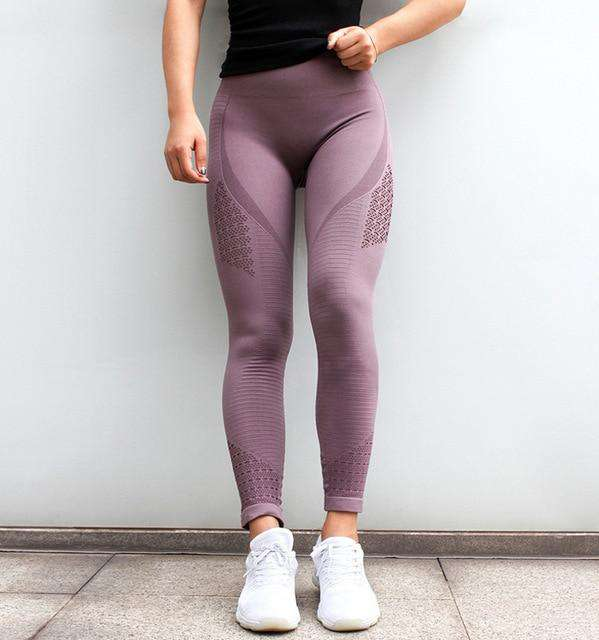 Sports Seamless Tummy Control Yoga Pants