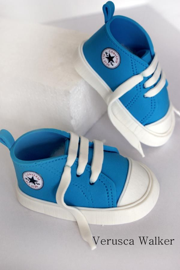 Baby converse Shoe topper