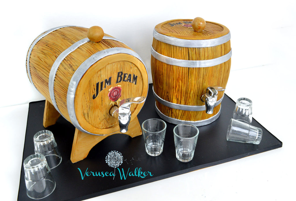 Whisky or Wine Barrel Structure