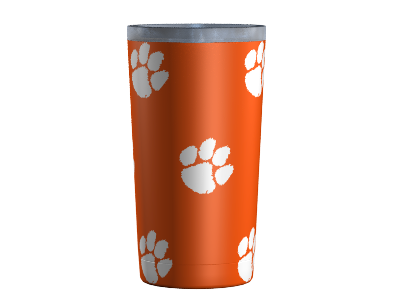 Clemson Paws All Over Orange